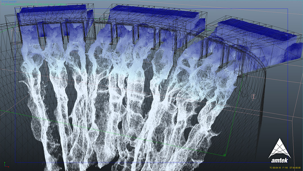 water simulation Learn a method of creating water simulation using only those tools native to 3ds  max, using flex and point cache modifiers as well as particle flow and.